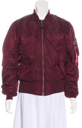 Alpha Industries Casual Bomber Jacket