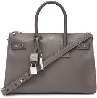 Saint Laurent Small Zipped Supple Sac de Jour Duffel Bag