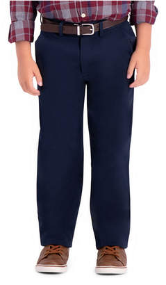 Haggar Boys Sustainable Chino, Reg Fit, Flat Front Pant Size 8 - 20