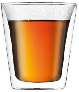 Bodum Canteen Double Wall Glass- Set of 2