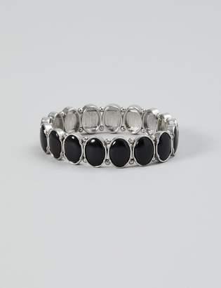 Lane Bryant Oval Stone Stretch Bracelet