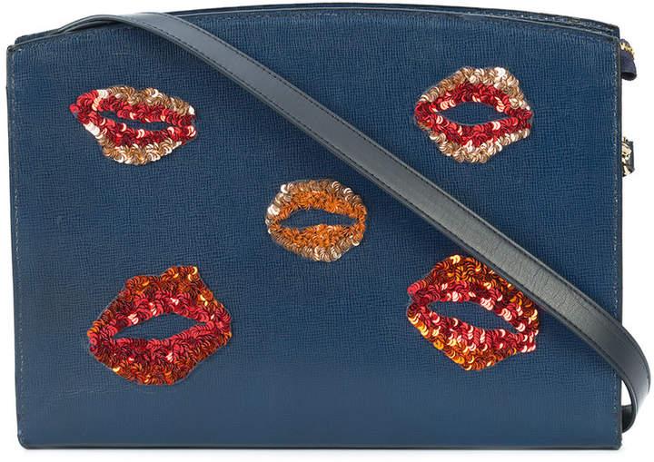 Lizzie Fortunato lips leisure shoulder bag