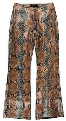 Gucci 2000 Python Wide-Leg Pants