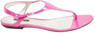 Dolce & Gabbana Patent leather sandals