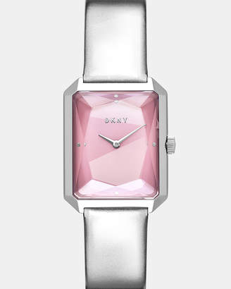 DKNY Cityspire Silver-Tone Analogue Watch