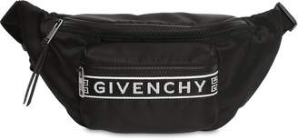 Givenchy Nylon Belt Pack W/ 4g Logo Webbing