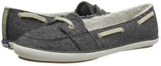 Keds Teacup Boat Wool Shearling Women's Slip on Shoes