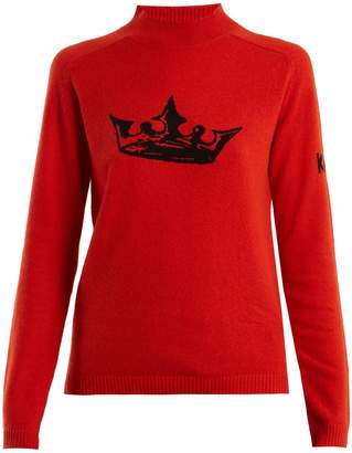 Bella Freud Crown cashmere sweater