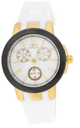 Invicta Women's Ceramics 22205 Silicone Quartz Watch