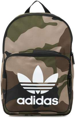 adidas Trefoil camouflage backpack