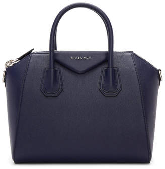 Givenchy Navy Small Antigona Bag