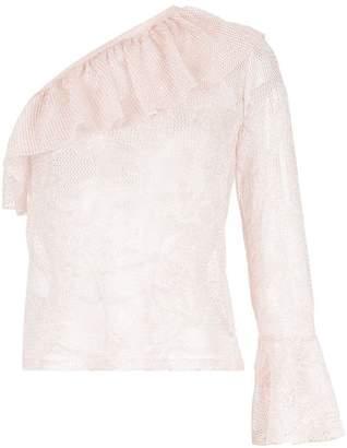 Cecilia Prado Marcela asymmetric knit blouse