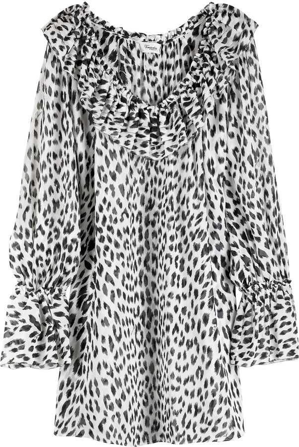 Temperley London Alessia leopard print tunic