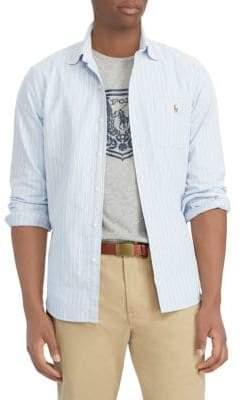 Polo Ralph Lauren Striped Cotton Sports Shirt