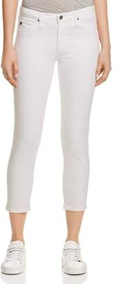 AG Jeans Prima Crop Jeans in White