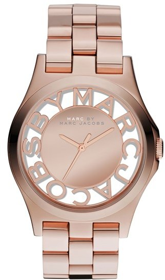 Marc by Marc Jacobs 'Henry Skeleton' Bracelet Watch