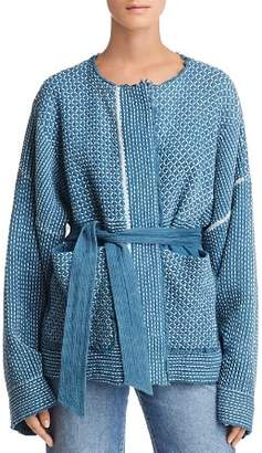 Elizabeth and James Hayden Textured Kimono Jacket