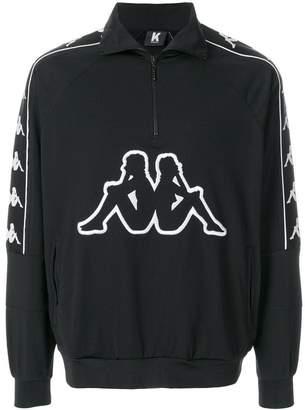 Kappa Kontroll half zip Banda sweatshirt