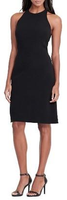 Women's Lauren Ralph Lauren Crepe Sheath Dress $180 thestylecure.com