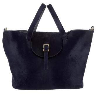 Meli-Melo Ponyhair-Trimmed Thela Tote