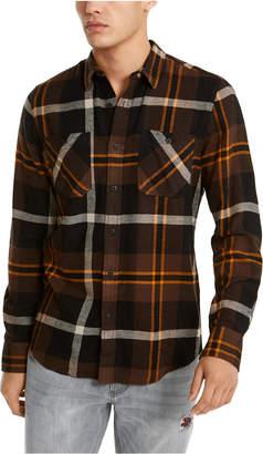 American Rag Men Drew Plaid Flannel Shirt
