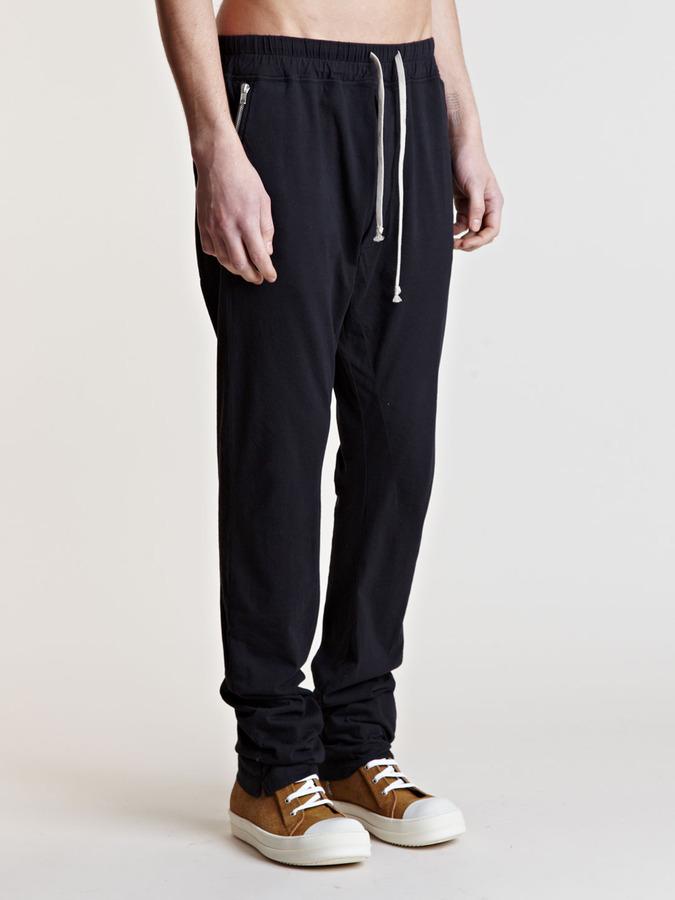 Rick Owens Men's Jersey Pants
