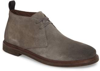 John Varvatos Plain Toe Chukka Boot