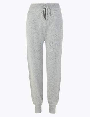 Marks and Spencer Pure Cashmere Textured Slim Leg Joggers