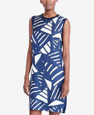 Lauren Ralph Lauren Printed Sweater Dress $135 thestylecure.com