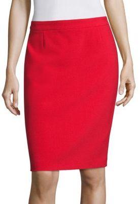 BOSS Vimena Pencil Skirt $265 thestylecure.com