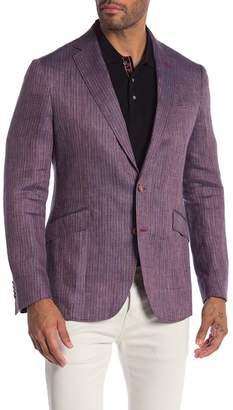 Robert Graham Corbett Tailored Fit Linen Sportcoat