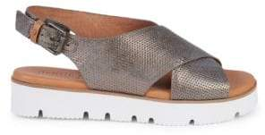 Gentle Souls Prisca Perforated Platform Walking Sandals