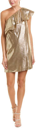 Rachel Zoe Marina Silk-Blend Shift Dress