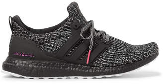 new concept 3a5cb 72175 adidas Ultraboost 4.0 Rubber-Trimmed Primeknit Sneakers