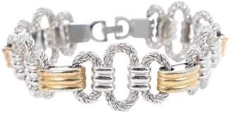 Christian Dior Vintage Silver Metal Bracelets