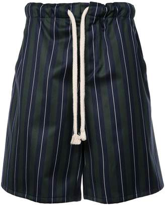 Loewe striped drawstring shorts