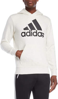 adidas Off-White Logo Hoodie