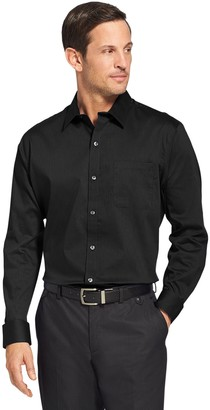 Van Heusen Men's Traveler Bedford Classic-Fit Stretch Non-Iron Button-Down Shirt