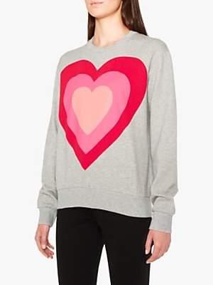 0b32829ec98856 Heart Sweatshirt - ShopStyle UK
