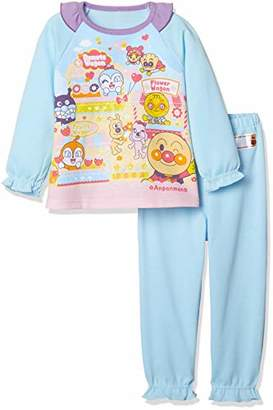 Bandai (バンダイ) - [バンダイ] それいけ アンパンマン光るパジャマ AR-2434942 ガールズ サックス 日本 100 (日本サイズ100 相当)