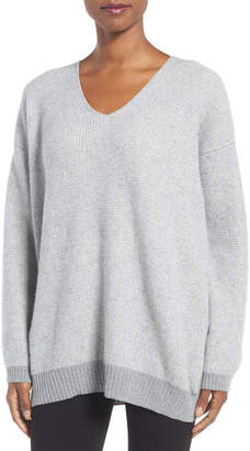 Eileen Fisher Recycled Cashmere & Lambswool Sweater $438 thestylecure.com