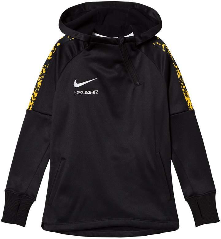 Black Nike Therma Neymar Academy Football Hoodie