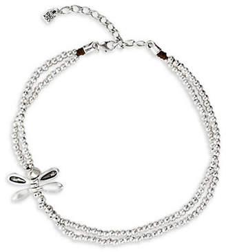 Uno de 50 Little Dragon Fly Swarovski Crystal Beaded Necklace