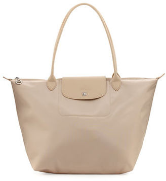Longchamp Le Pliage Néo Large Nylon Tote Bag $190 thestylecure.com