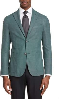 Boglioli Slim Fit Hopsack Wool Blend Sport Coat