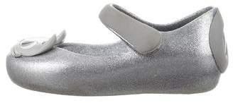 Mini Melissa Girls' Embellished Rubber Shoes