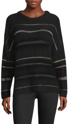 Rails Daphne Metallic Stripe Sweater