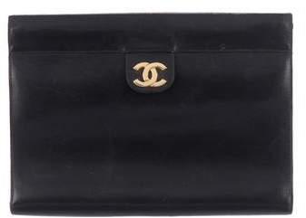 Chanel Vintage CC Clutch