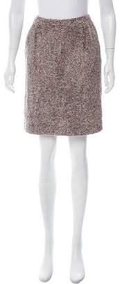 Couture St. John Tweed Pencil Skirt