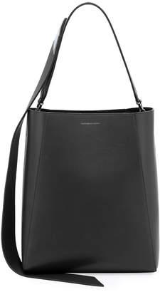 Calvin Klein Calf Leather Bucket Bag